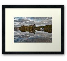 Loch Lomond At Aldochlay Framed Print