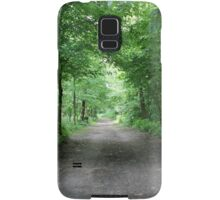trees in the forest Samsung Galaxy Case/Skin