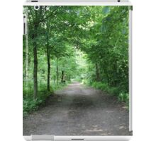 trees in the forest iPad Case/Skin