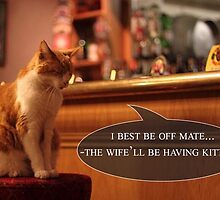 8 out of 10 Cats prefer whiskies by GarfunkelArt