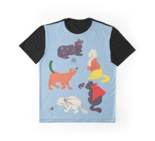 Halloween Kitties Graphic T-Shirt
