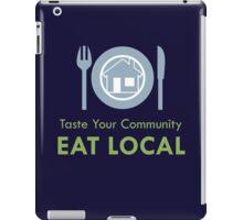 Taste Your Community iPad Case/Skin
