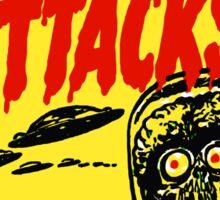Mars Attacks Sticker