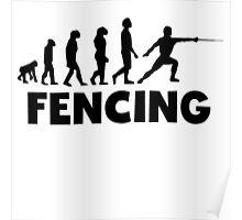 Fencing Evolution Poster