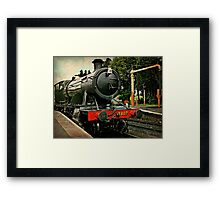 Heavy Goods Steam Train Framed Print