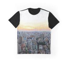 Sau Paulo Aerial  Graphic T-Shirt
