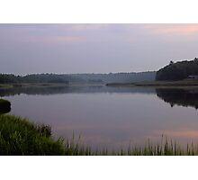 Dawn On Upper Goose Pond Photographic Print