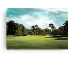 Golf Day Troubles Canvas Print