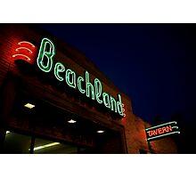 Beachland Photographic Print