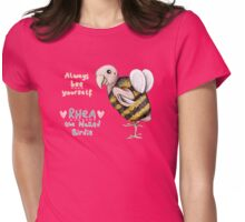 Rhea - Always Bee Yourself Womens Fitted T-Shirt
