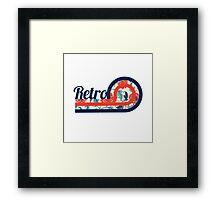 Retro Chic Framed Print