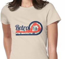 Retro Chic Womens Fitted T-Shirt