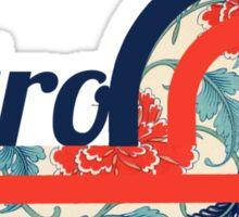 Retro Chic Sticker