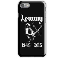 Lemmy Kilmister Motorhead iPhone Case/Skin