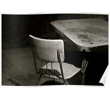 have a seat. Poster