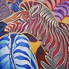 Zebras by Tatyana Binovskaya