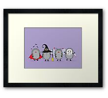 ready for Halloween Framed Print