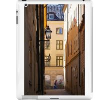 Backstreets Gamlastan, Stockholm iPad Case/Skin