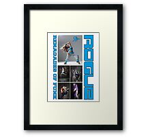 ROGUE RENEGADE OF FUNK Framed Print