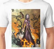 Awesome dark fairy Unisex T-Shirt