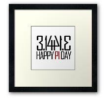 Pi Day Framed Print