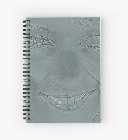Deadly Girl Spiral Notebook