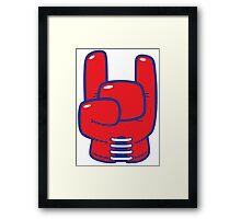 Cool boxing horn Framed Print