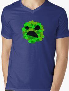 Artistic Creeper Mens V-Neck T-Shirt
