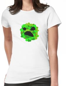 Artistic Creeper Womens Fitted T-Shirt