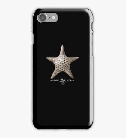 Seestern auf schwarz, Majestic-World,M.A.MARTIN iPhone Case/Skin