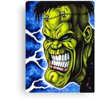 The Creature of Frankenstein Canvas Print