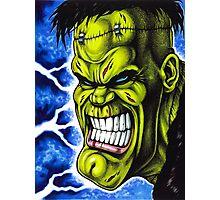 The Creature of Frankenstein Photographic Print