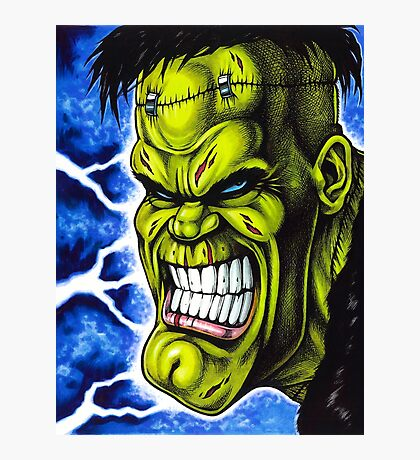 The Creature of Frankenstein Photographic Print