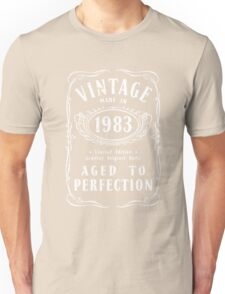 Made In 1983 Birthday Gift Idea Unisex T-Shirt
