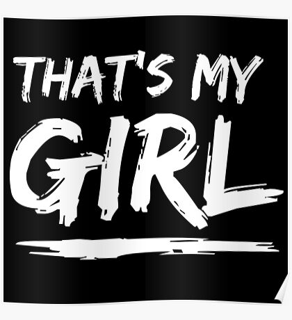 That's My Girl Poster