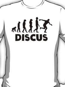 Discus Throw Evolution T-Shirt