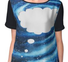 Galaxy of Thought Chiffon Top