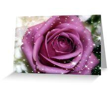 Purple Bliss Greeting Card