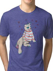 Clown Kitty Tri-blend T-Shirt