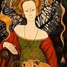 The Lady and the Cat by Tatyana Binovskaya