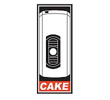Cake is a Lie Photographic Print