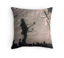 Prince- Superbowl silhouette Throw Pillow