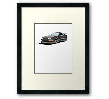 DC2 JDM Hatchback Framed Print
