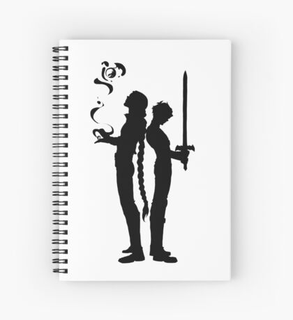 Magic and tragedy Spiral Notebook