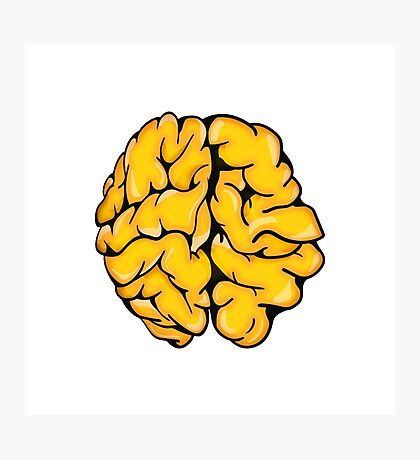 The Brain Photographic Print