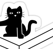 for science - a haiku by my cat Sticker