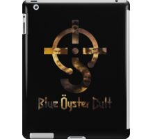 Blue oyster cult black back iPad Case/Skin