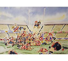 Sporting Prints- Drop Penalty Photographic Print