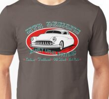 HTR Designs Barely Legal Kustoms garage Unisex T-Shirt