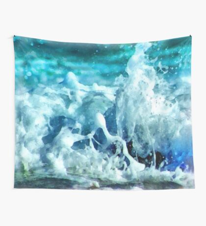 Sea splash Wall Tapestry